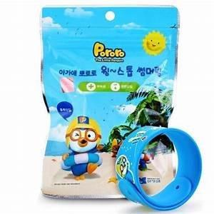 韓國 Pororo全天然驅蚊手帶兩條