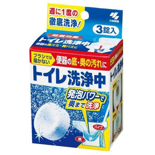 小林製藥 - 馬桶強力除菌清潔洗淨劑 [1盒3粒]
