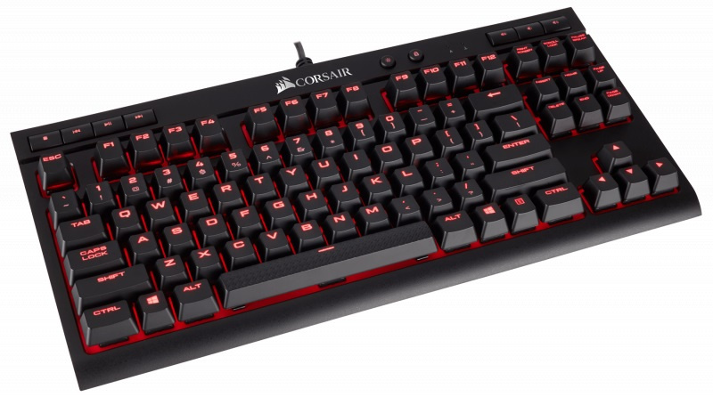 Corsair K63 Compact Mechanical Gaming Keyboard - CHERRY MX Red CH-9115020-NA