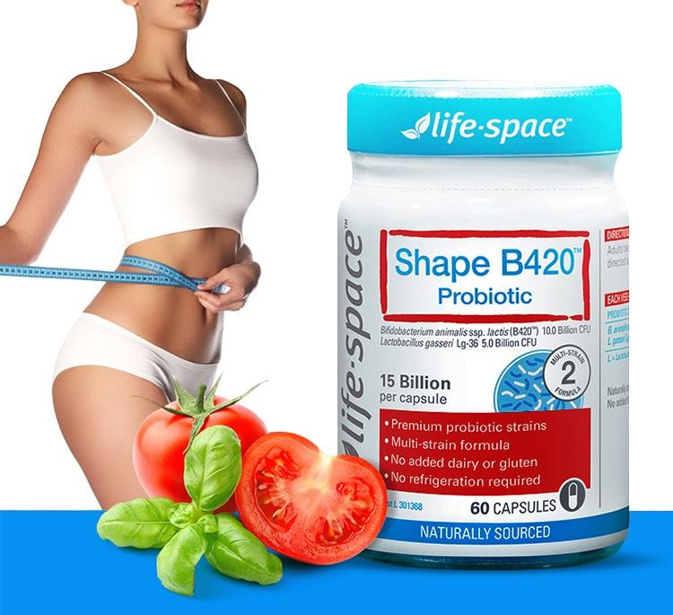 Life space B420 塑身益生菌60粒