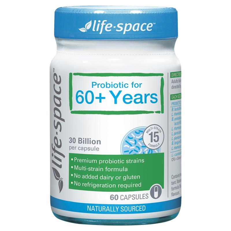 Life Space 長青益生菌60+ 60粒