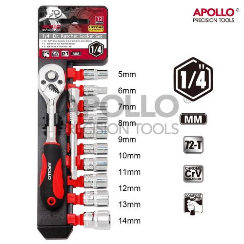 Hi-Spec Apollo 套筒工具組合套裝 [3尺寸]