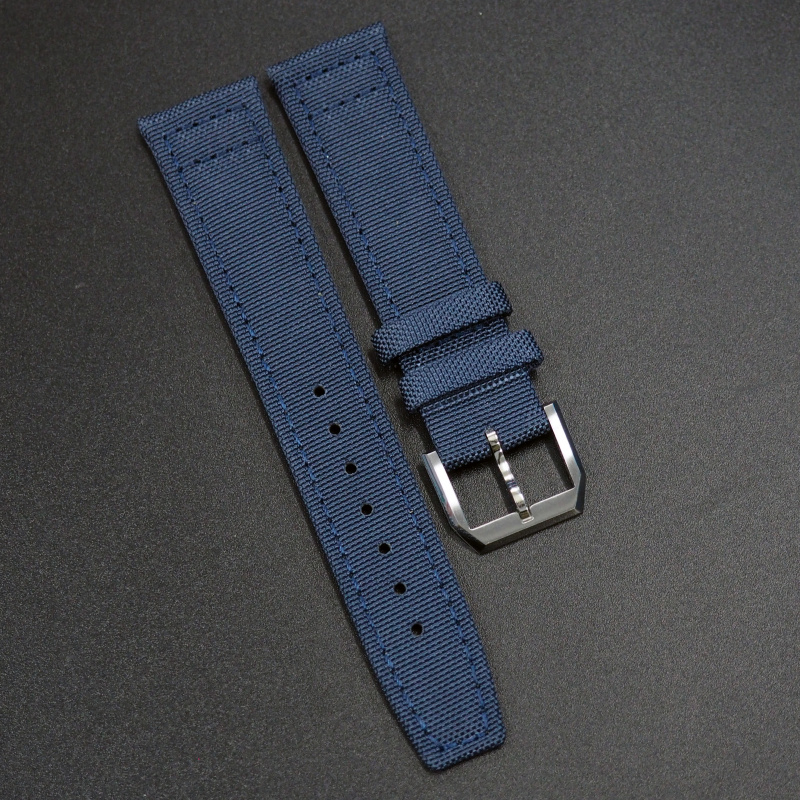 20mm, 21mm, 22mm IWC 藍色尼龍代用錶帶