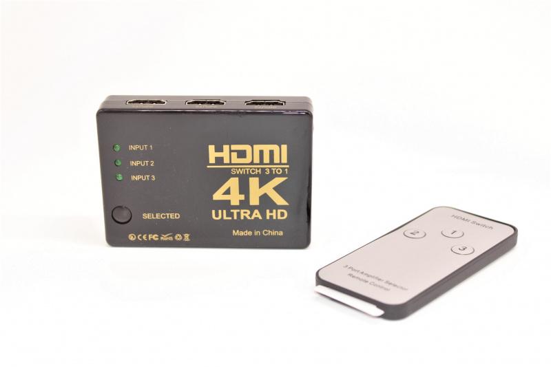 HDMI選擇器 (3入1出)