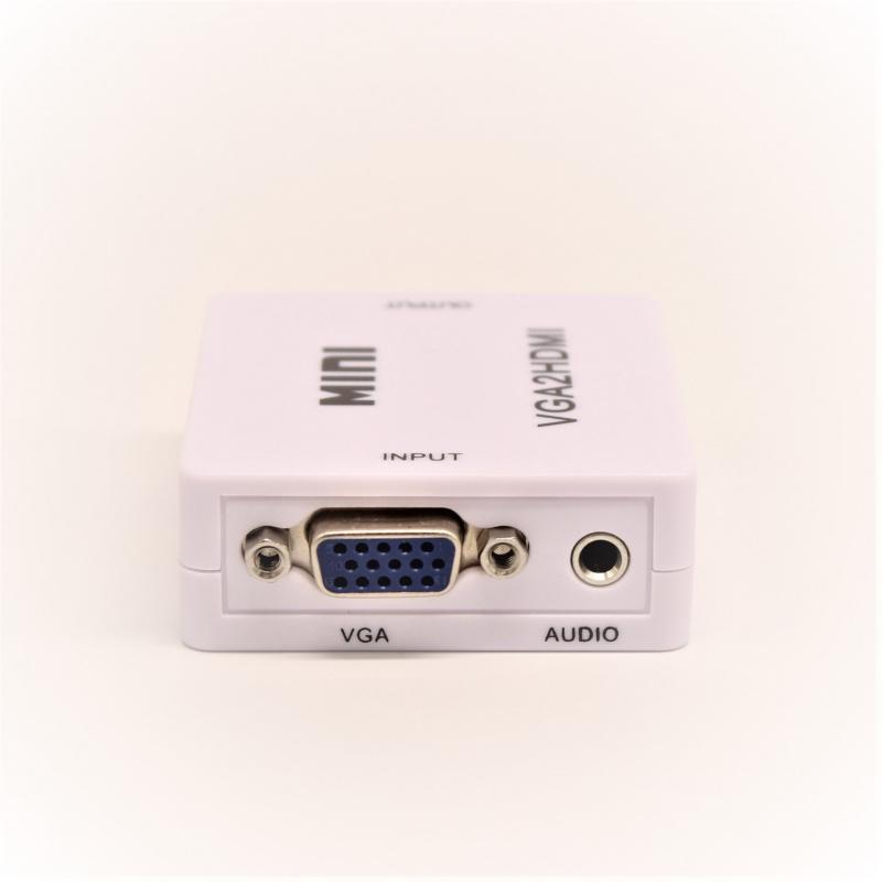 VGA+3.5>HDMI轉換器