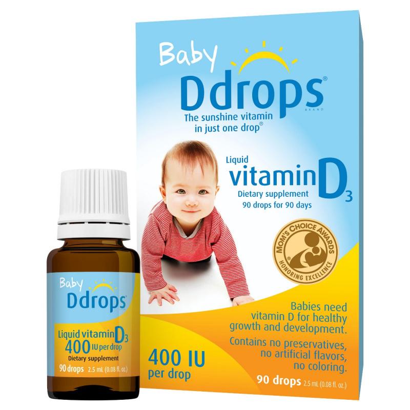 Baby Ddrops 嬰兒 維生素 D3 滴劑