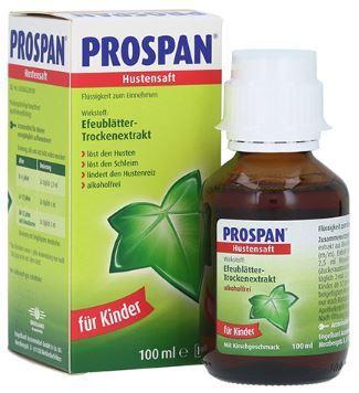 Prospan 兒童和成人德國保咳定止咳糖漿100ml [德國版]