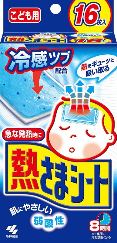 小林退熱貼 兒童 16片裝-日本版