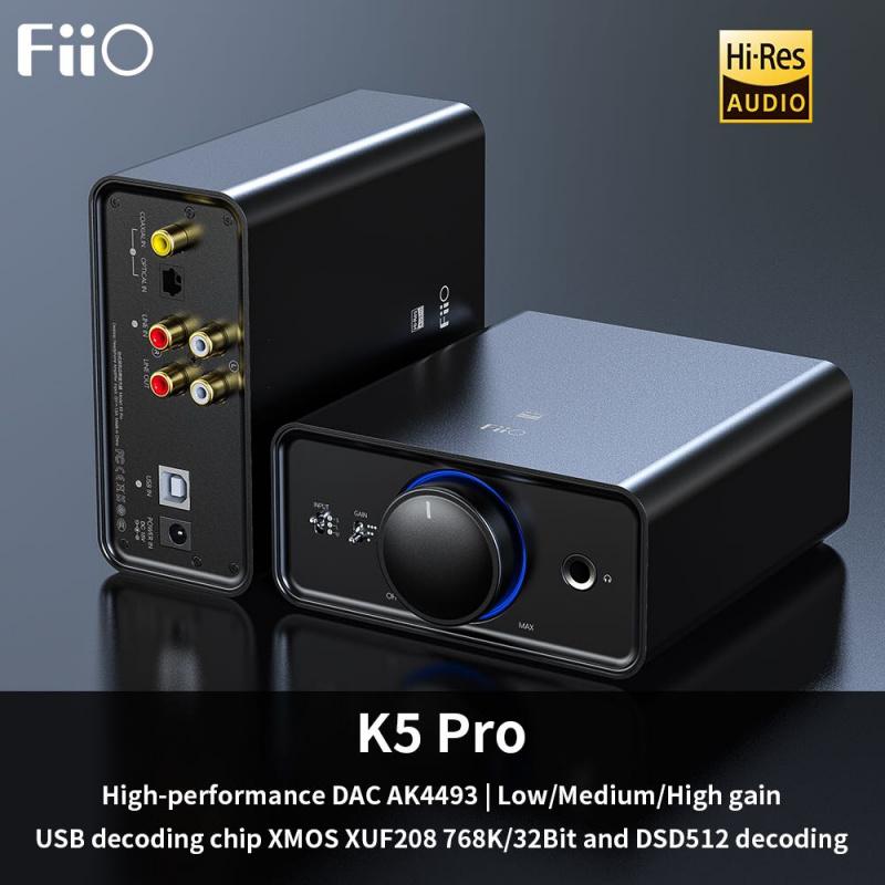 FiiO K5Pro 座檯式 USB DAC 解碼連耳擴