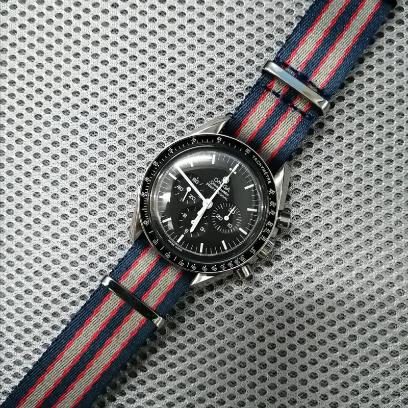 20mm Omega Nato 拼色高質尼龍錶帶