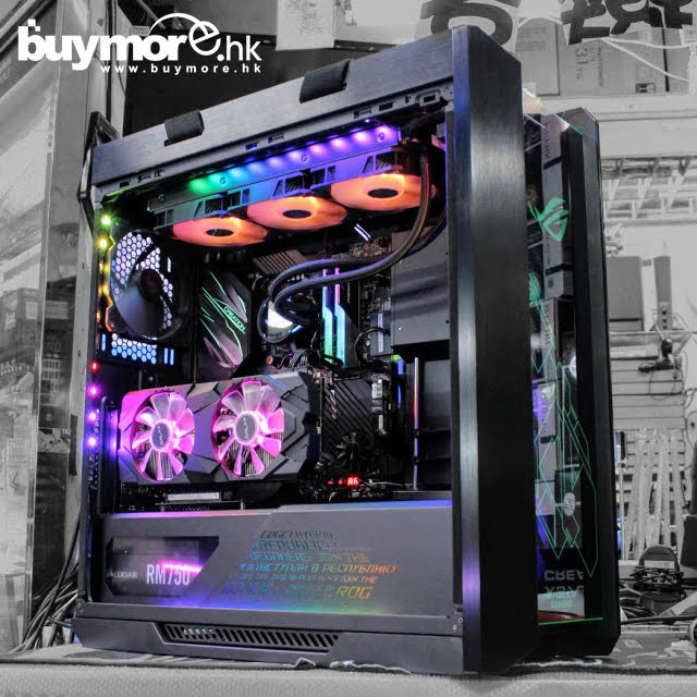【📞Whatsapp:69696926🤞送RGB風扇燈條🚀💡最快四小時內送到🚀】 Intel Core i9-9900K處理器 ASUS PRIME Z390-A主板 G.SKILL Trident Z RGB 16GB 3200Mhz記憶體 Intel 512GB SSD 660p NVMe SSD GALAX GeForce RTX2070 SUPER顯卡 ASUS GT6