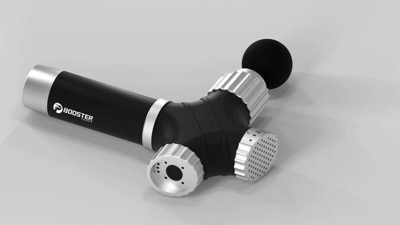 Booster 行貨 L7 GEAR 降噪 可調式振動肌肉按摩槍