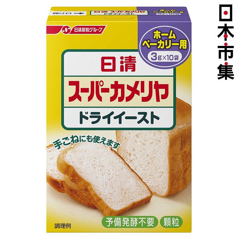 日版 日清製粉 烘焙乾酵母 (超級山茶花) 3g x 10袋【市集世界 - 日本市集】