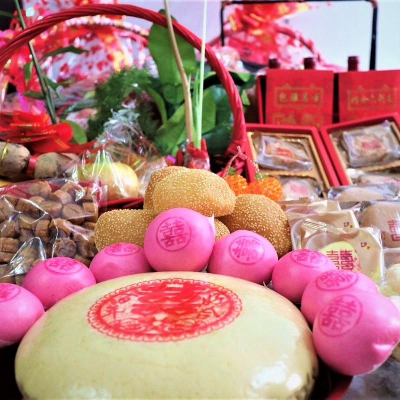 傳統香港女家回禮連茶禮套裝