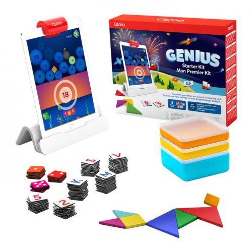 OSMO 新版 Genius Starter Kit 5 IN 1 - iPad 專用遊戲系統
