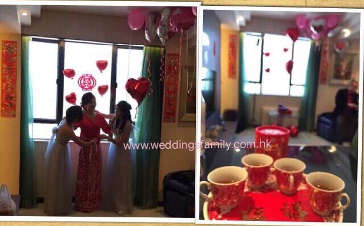 幸福新娘敬茶及出門套裝