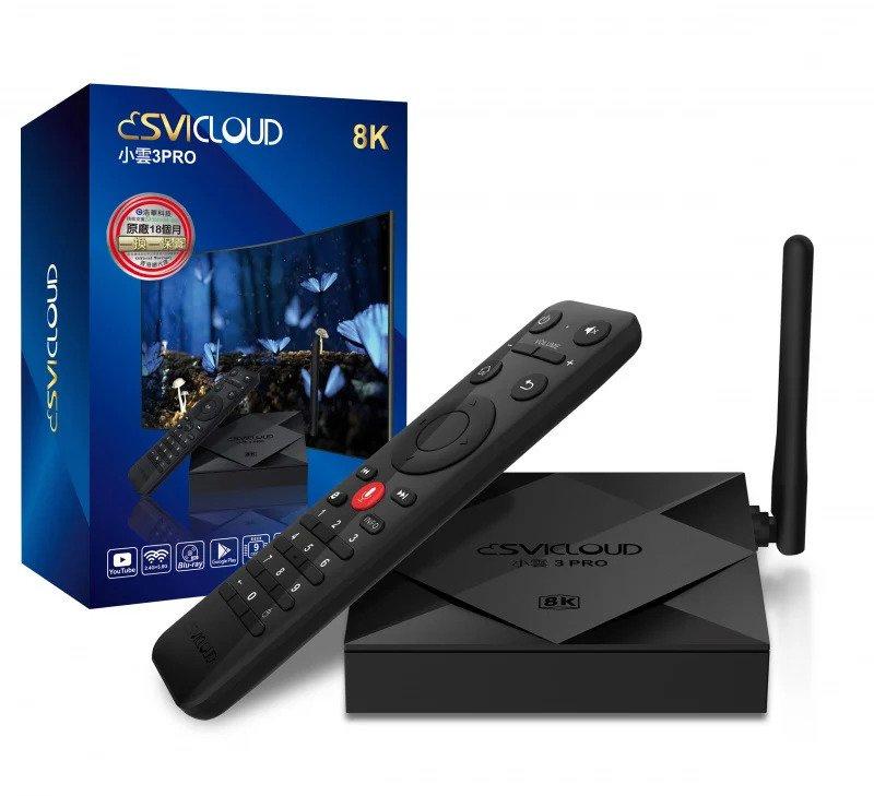 SVI Cloud 小雲電視盒子 3 PRO (送語音飛鼠遙控)