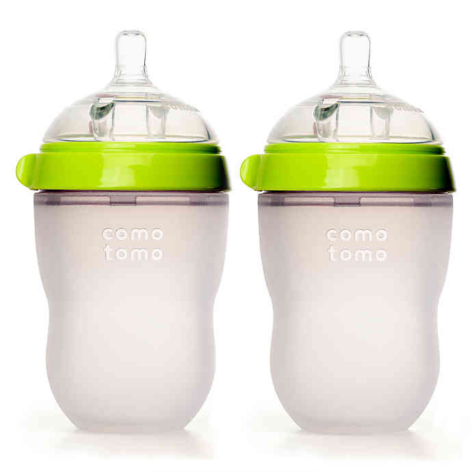 Comotomo 醫院級 矽膠奶瓶 2裝 250ml