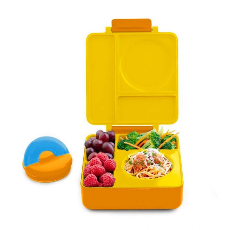 美國Omiebox保冷保熱三層防漏餐盒 Kids Thermos-Insulated Bento Box 5色