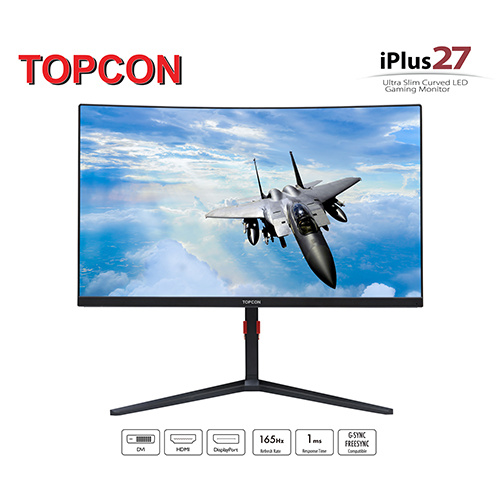 Topcon Gaming Monitor iPlus27 超薄無邊遊戲顯示屏