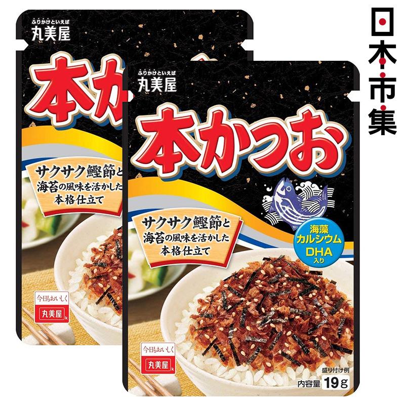 日版丸美屋 鰹魚紫菜味素飯料 28g (2件裝)【市集世界 - 日本市集】