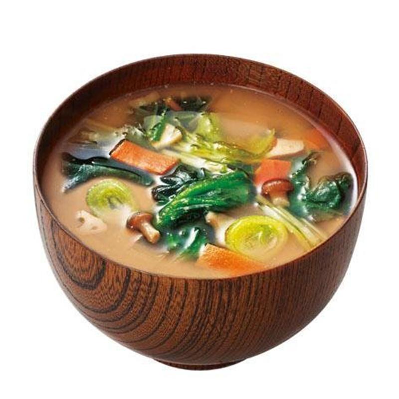 日本【天野食品】10品綜合綠黃色野菜 味噌湯 (5包裝)【市集世界 - 日本市集】