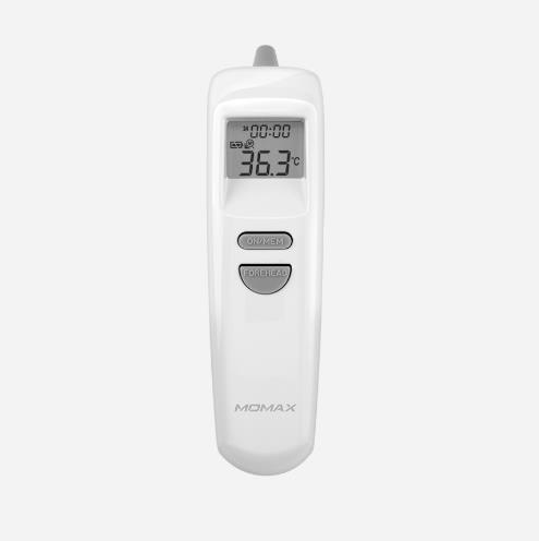 Momax 1-Health Pro 二合一 非接觸式額探 + 耳探 體溫探熱槍