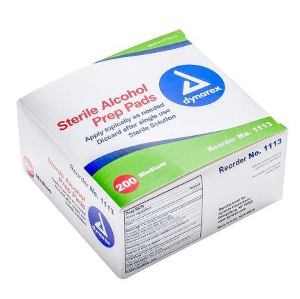 美國品牌 Dynarex 70% 酒精消毒紙綿 (200包獨立包裝)