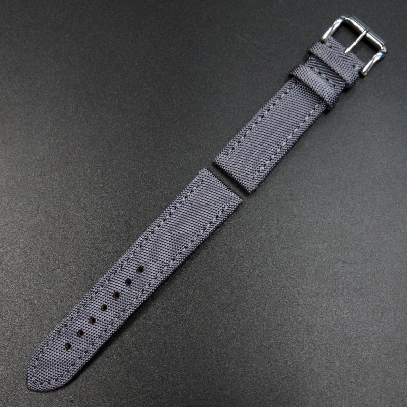 22mm Breitling 白鴿藍色尼龍錶帶