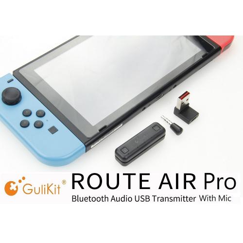 GuliKit Route Air Pro 帶咪藍牙發射器