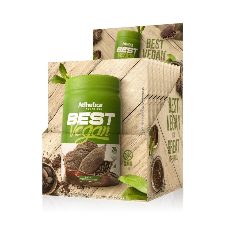 BEST VEGAN全素超級食物蛋白粉 (可可) (獨立包裝) 40克/包
