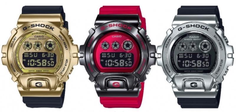 Casio G-Shock - Metal Bezel 系列手錶 [GM-6900] [3色]