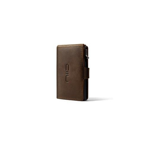 NIID - RFID Slide Mini Wallet Mad Horse Leather 防盜刷真皮智慧卡夾