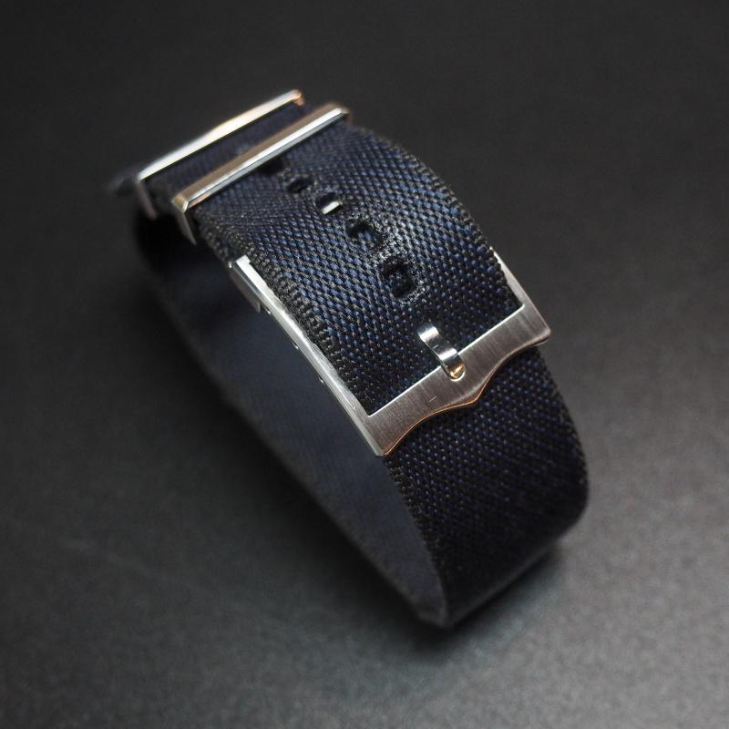22mm Tudor 藍色優質尼龍錶帶