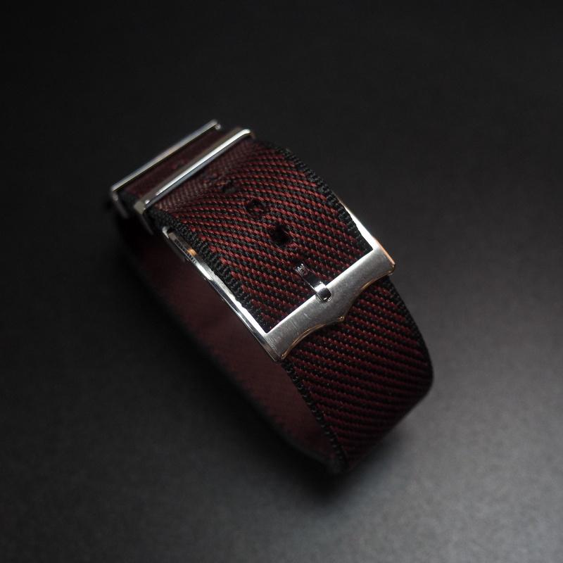 22mm Tudor 紅色優質尼龍錶帶