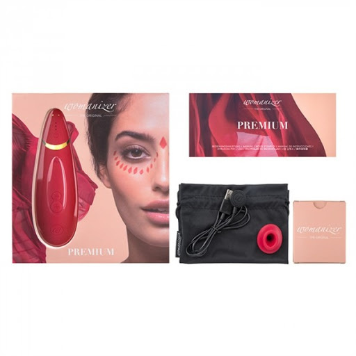 Womanizer Premium 智慧型陰蒂吸啜器 (紅色/白色/黑色)