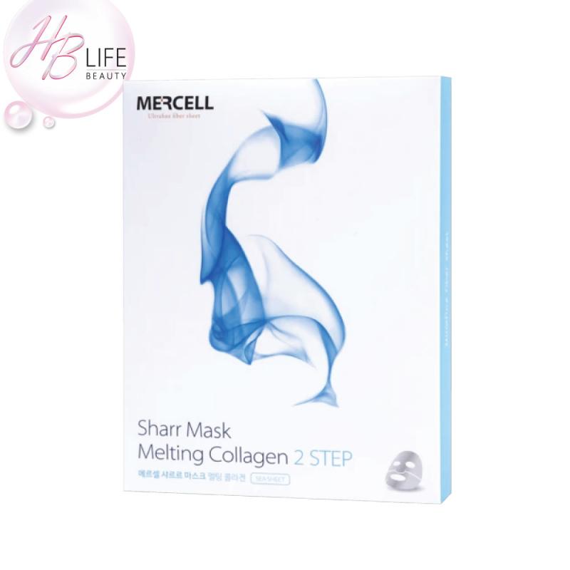 [HB盤點] Mercell Sharr 溶化膠原蛋白面膜(2步)(5片) (平行進口產品) [有效期2021年7月20]