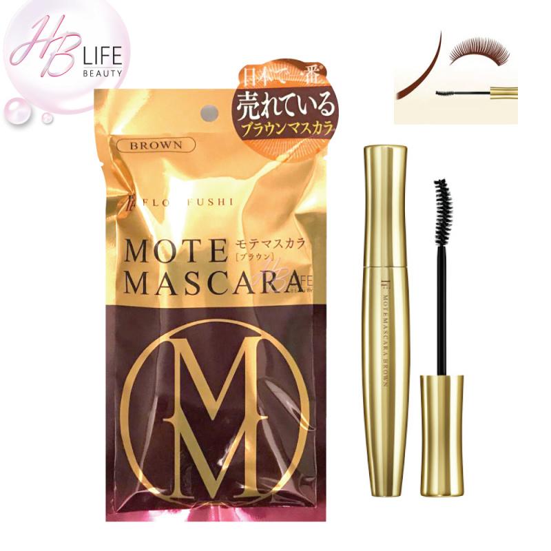 [HB盤點] Flowfushi Mote Mascara 美容液纖毛睫毛膏(啡色) (6克) (平行進口產品) (Batch 1DU)