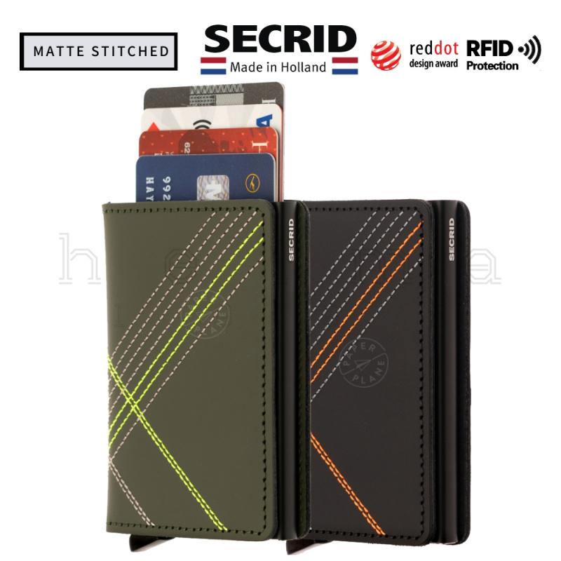 SECRID-Slimwallet-Matte Stitched