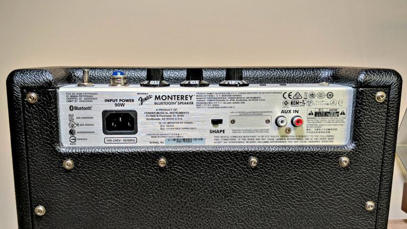 Fender Monterey 藍牙音箱