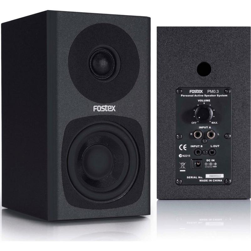 Fostex PM0.3 主動式喇叭