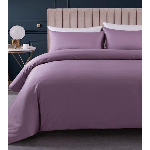 Casablanca Sicili SP052 1200針淨色長絨棉系列 [柔緞紫] [5尺寸]