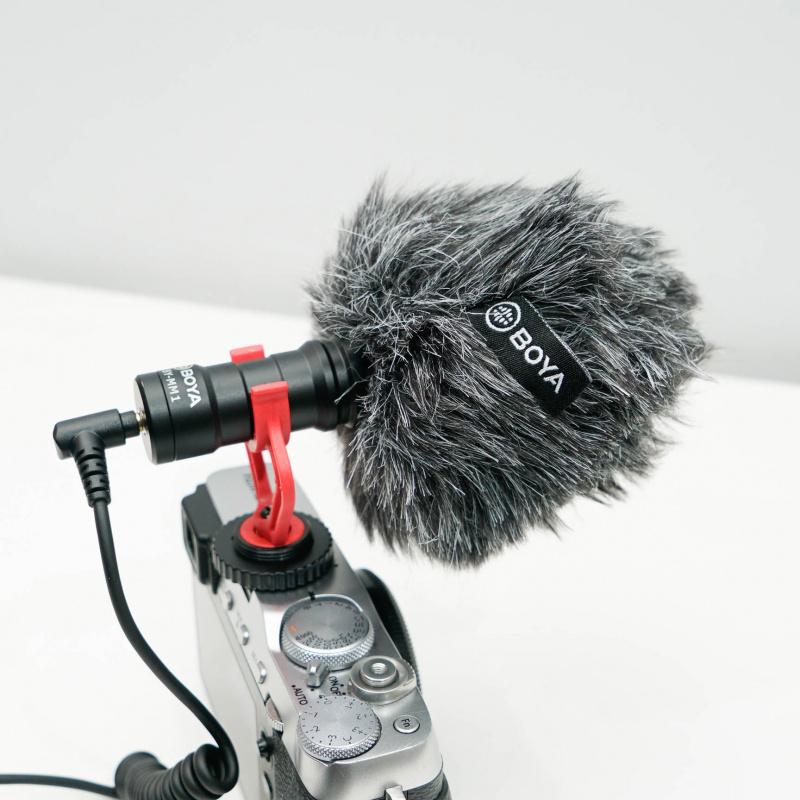 BOYA BY-MM1 指向性收音咪相機