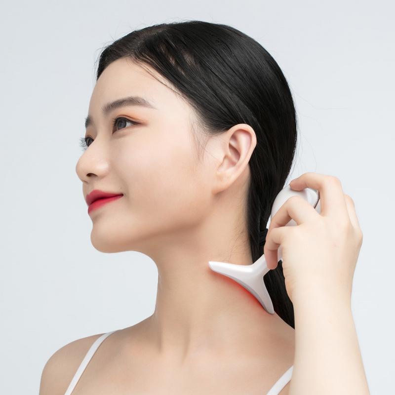小米 - Wellskins 聲波彩光美頸儀 MJ100 - 緊緻 提拉 收緊 淡化 疏通 頸紋頸線皺紋經絡