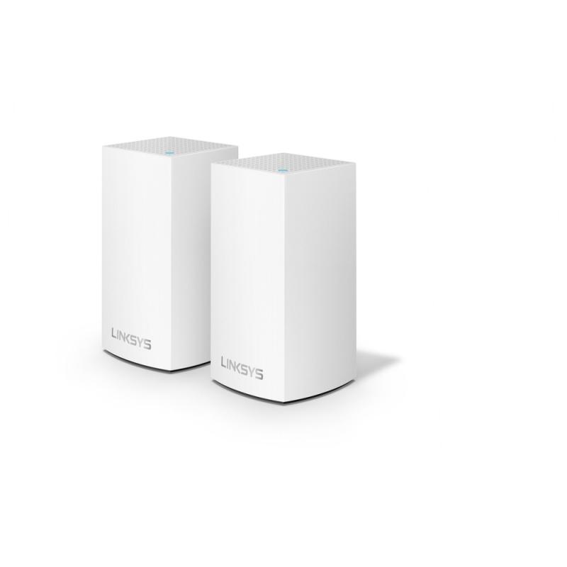Linksys Velop 智慧型網狀WiFi系統 路由器 [2件裝] [WHW0102] (送Belkin4位防雷保護器拖板)