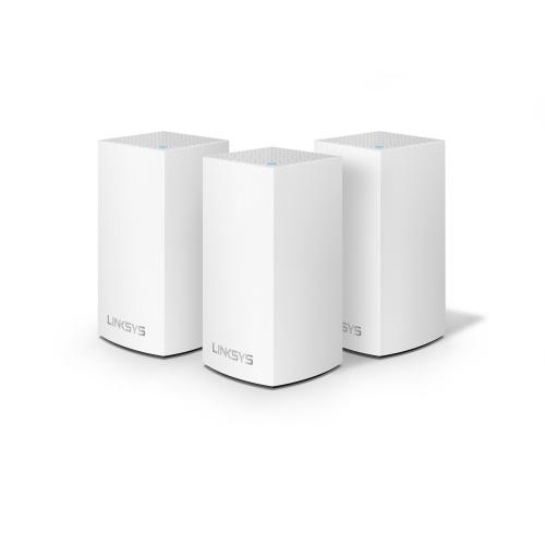 Linksys 雙頻 Velop Mesh WiFi 系統 路由器 [3件裝] [WHW0103-AH] (送Belkin4位防雷保護器拖板)