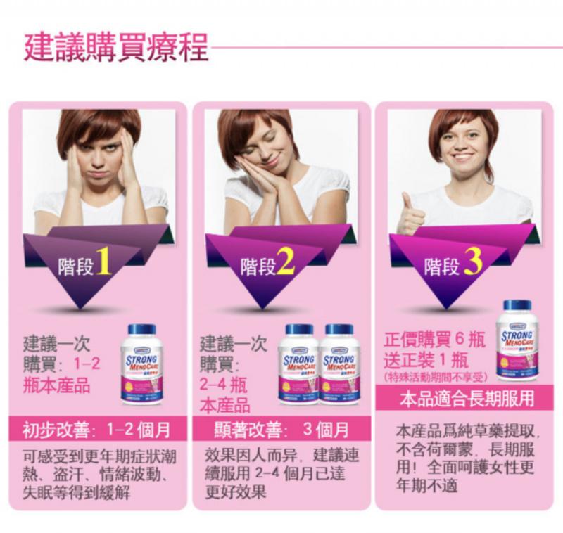 強效更年安 女士更年期均衡營養素