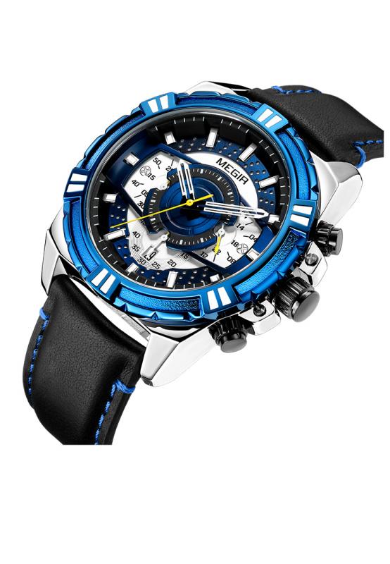 Megir 日本機芯石英手錶