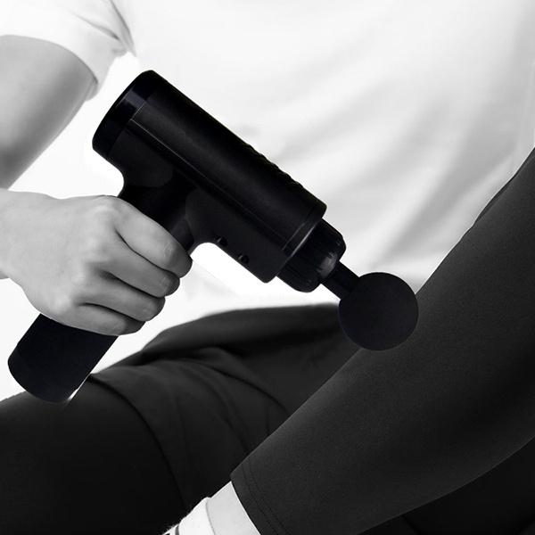 日本JTSK - 高頻震動緩解酸痛放鬆肌肉深層治療按摩槍+送(4個按摩頭)