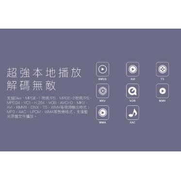 GIEC - 多媒體藍光播放機 BDP-G2805 (原裝行貨)